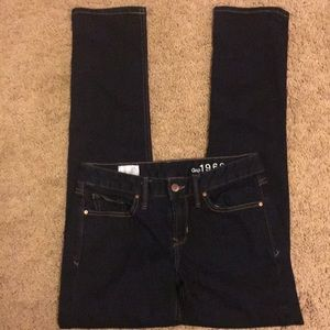 NWOT! Gap Straight Blue Jeans